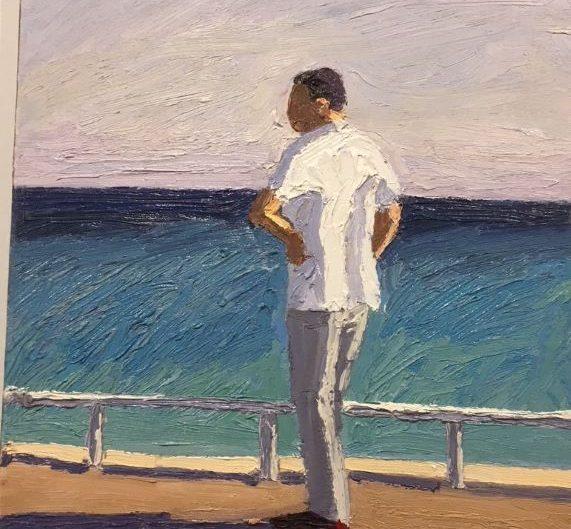 ART Painting Omar Logang L'homme